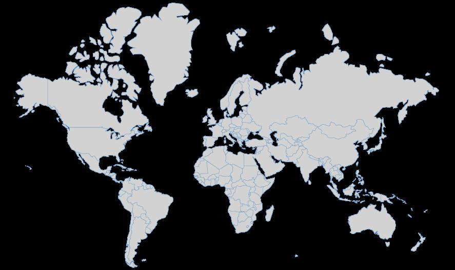 Global Regions Map