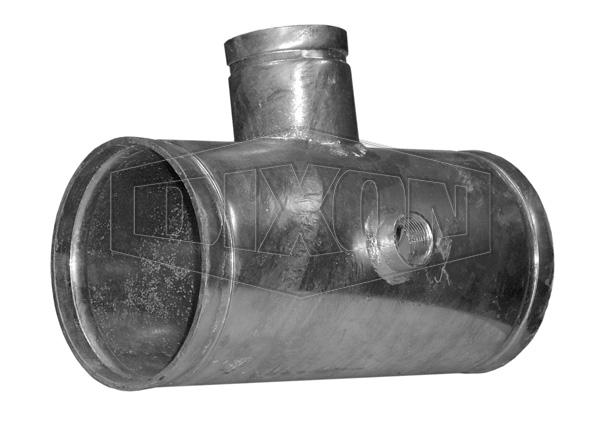 Grooved Hydrant Hose Reel Tee