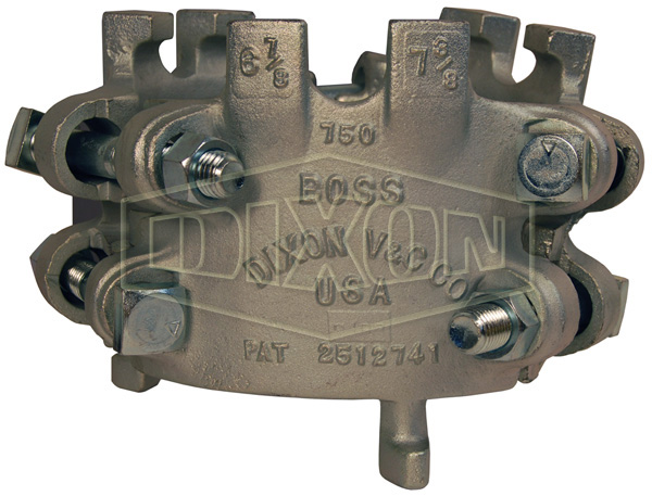 Boss™ Clamp 6 Bolt Type, 6 Gripping Fingers