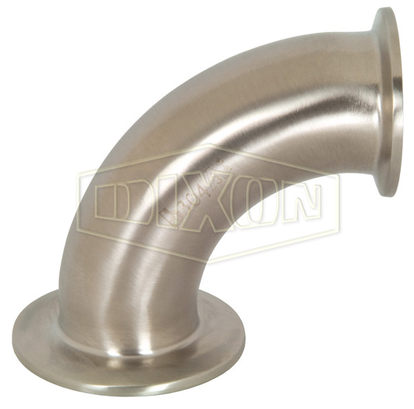 90° Non-Tapered Reducing Clamp Elbow