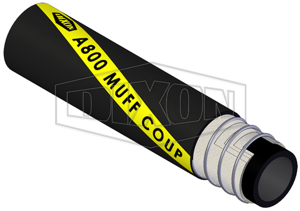 Rubber Material Handling Muff Coupling Hose (A800)