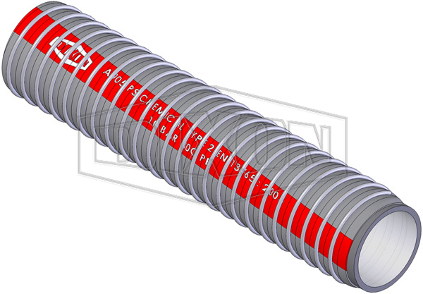 Code 952 - Composite Chemical Medium Duty Suction & Delivery Hose