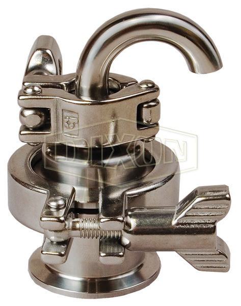 Air Relief Valve with 180° Elbow