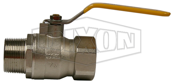 Ball Valve AGA Certified Male x Female Brass  BSP