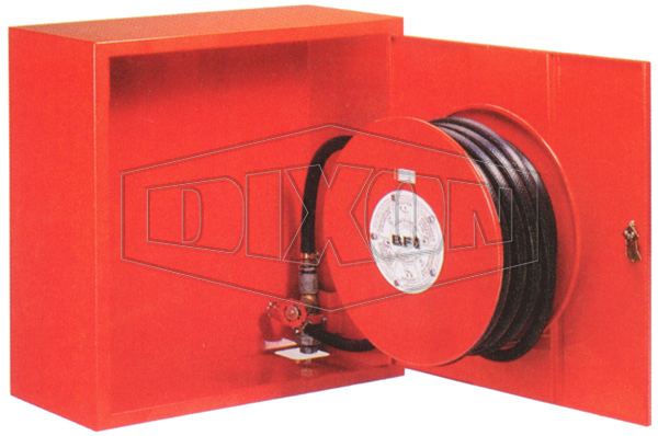 Swing Type Hose Reel with Cabinet