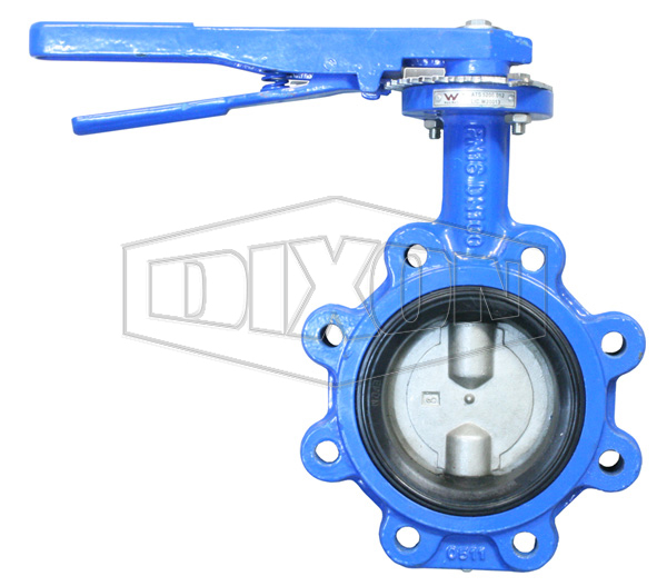 Lug Style WaterMark Butterfly Valve Table E