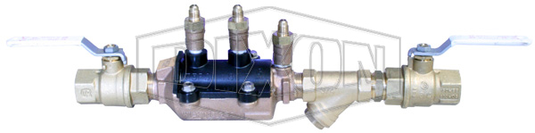 Double Check Valve with Isolation Valve & Strainer