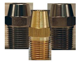 Dixon® Hex Nipple for Welding to Metal Hose