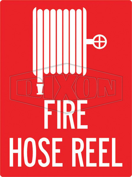 Hose Reel Sign