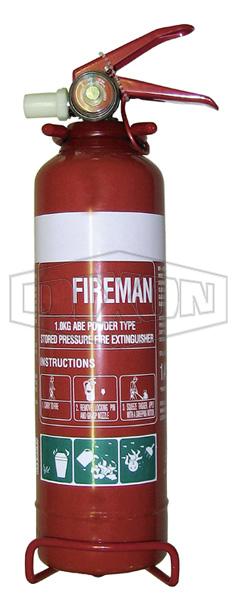 Fireman ABE Powder Fire Extinguisher