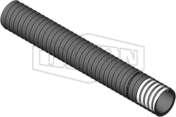 Heavy Duty Premium Grey PVC Suction Hose