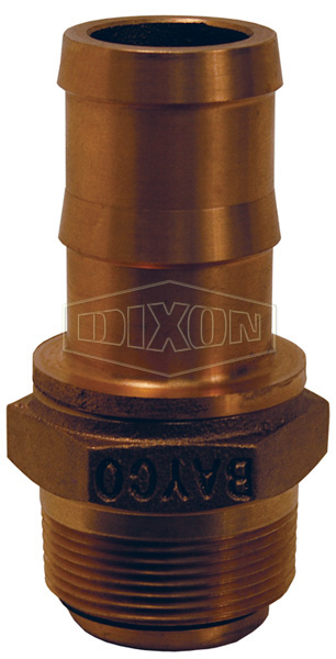 Male x Hose Shank Nozzle Swivel