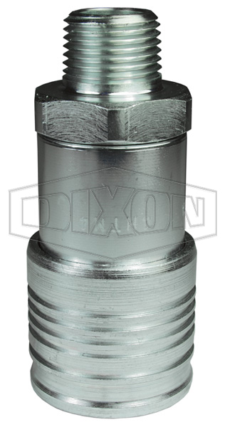 DQC HT-Series Flushface Male Threaded Coupler