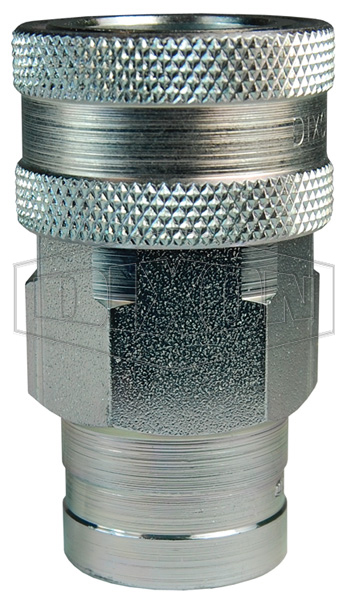 DQC K-Series ISO-A Interchange Female Coupler