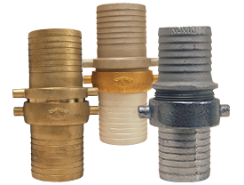 King™ Short Shank Suction Complete Coupling NPSM