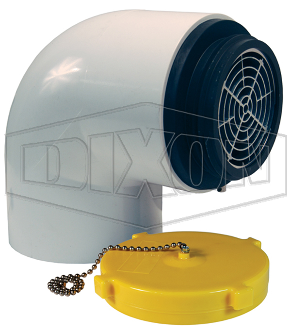 Dry Hydrant 90° Male Adapter