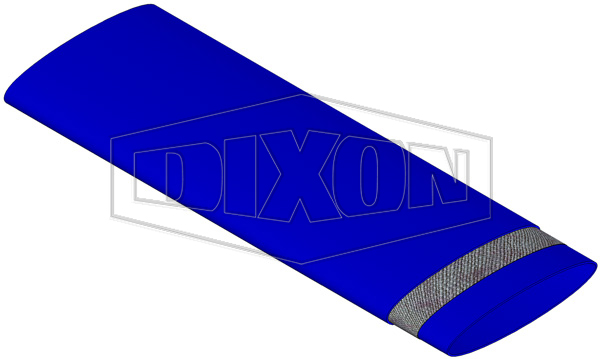 Medium Duty Blue Layflat Hose