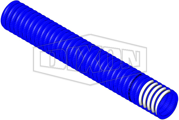 PVC Blue Medium Heavy Duty Petrol & Oil Suction Hose
