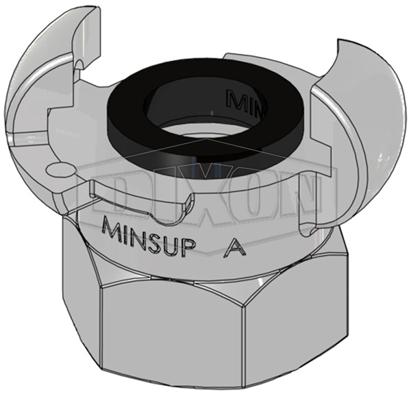 Minsup A Type Bellows Seal Female BSP End