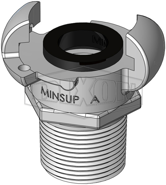 Minsup A Type Male BSP End