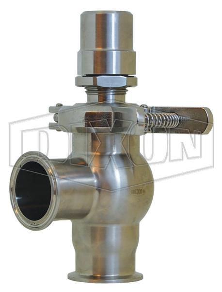 Dixon® Sanitary Pressure Relief Valve L Style