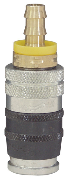 Parker E-z-mate Industrial Coupler Push-Lock Hose Barb