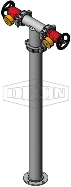 QLD Twin Hydrant Riser