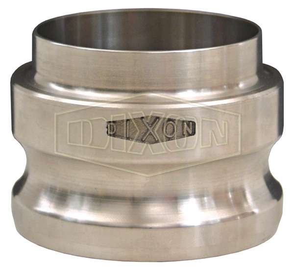 Dixon™ Cam & Groove Adapter x Butt Weld to Tube End