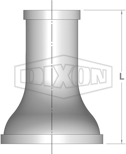 Shouldered End Concentric Reducer