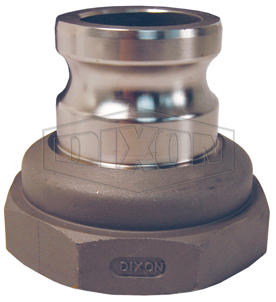 Cam & Groove Reducing Type A Adapter x Female NPT
