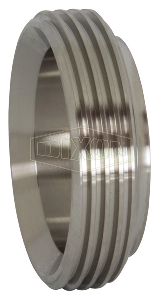 Short Threaded Bevel Seat Weld Ferrule
