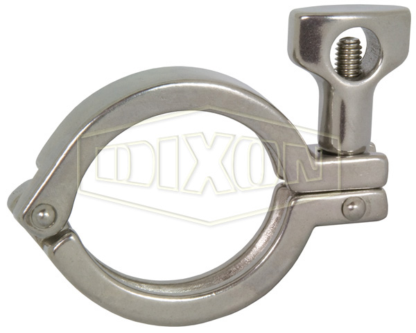 Single Pin Heavy Duty Clamp with Cross Hole Wing Nut