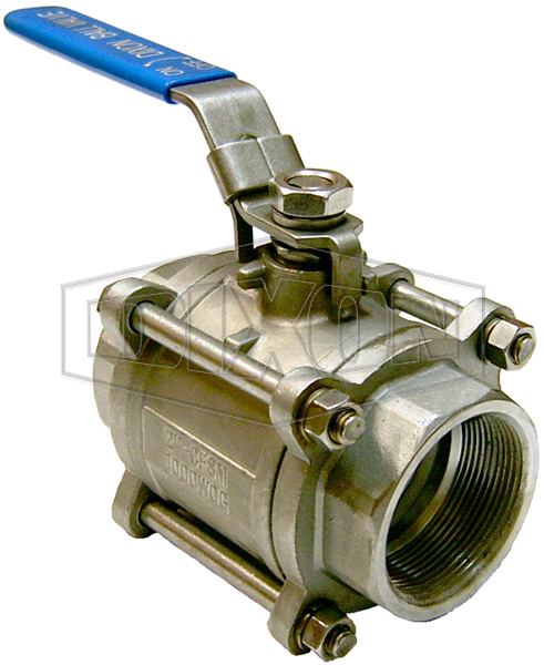3 Piece Locking Stainless Steel Ball Valve BSP