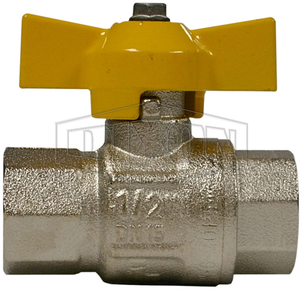 Ball Valve AGA Certified T-Handle Brass BSP
