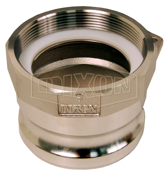 Intermodal Tank Transport Cam & Groove Adapter