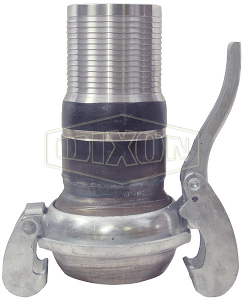 Type B Male with Machined Hose Shank