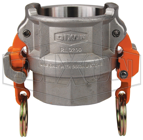 Vent-Lock™ Safety EZ Boss-Lock™ Cam & Groove Type D Coupler x Female NPT