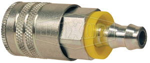 Air Chief Industrial Semi-Automatic Coupler Push-On Hose Barb