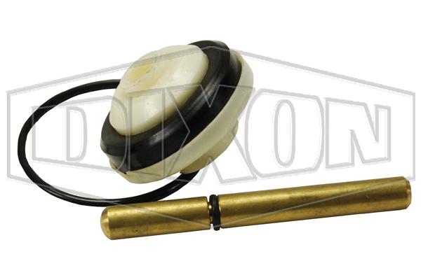 gravity nozzle repair plunger o ring valve seal base plate kit