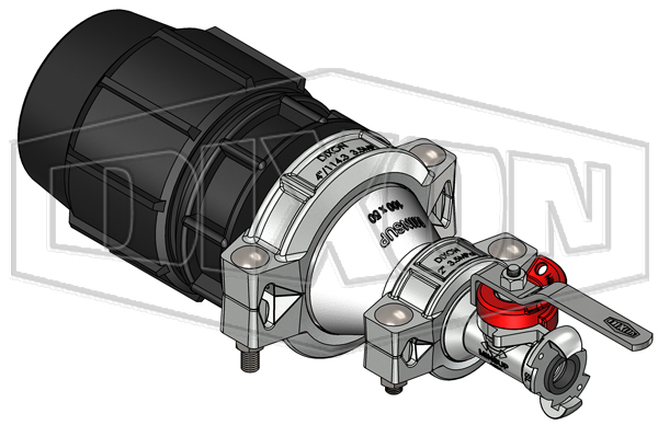 110mm Plasson® with 25mm Minsup® Surelock™ Econovalve™ Header Assembly