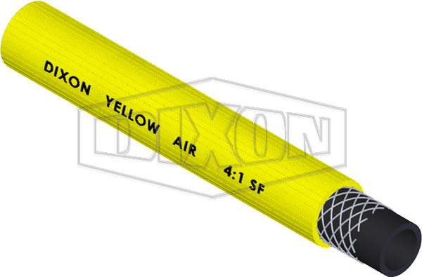 Dixon® H010 Safety Yellow Air & Water Delivery Hose