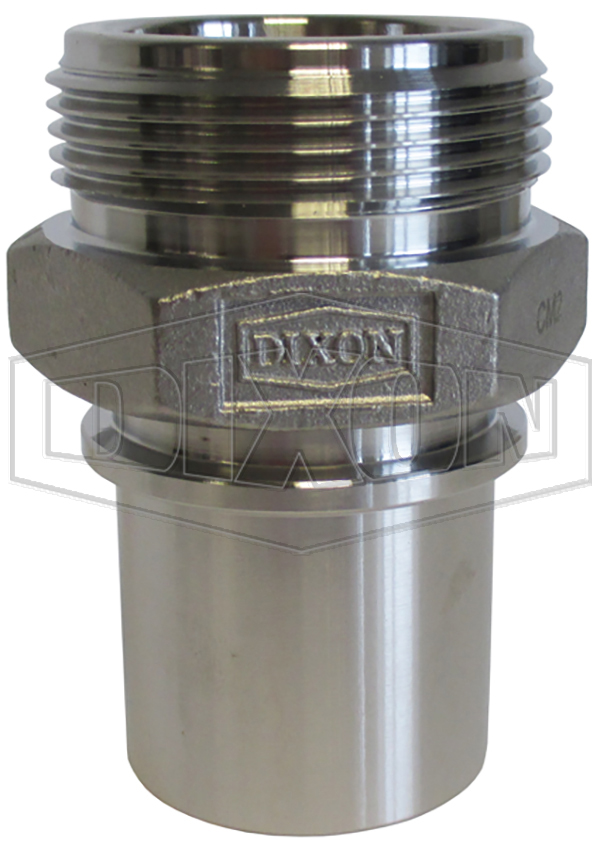 smooth tail couplings nickel plated brass male