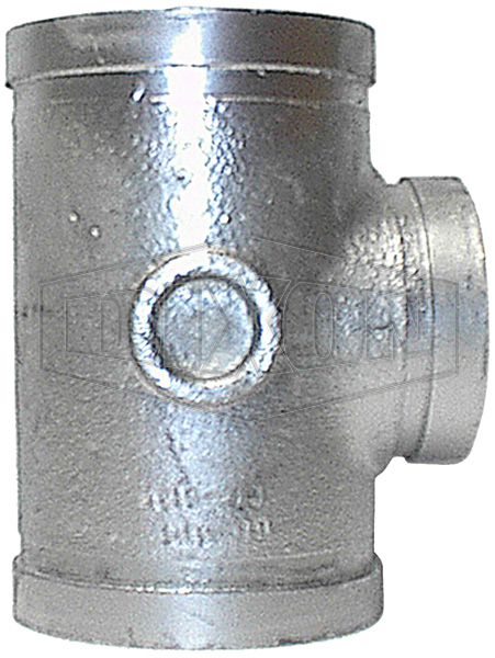 standard roll grooved hydrant stack tee galvanised pipe and welding
