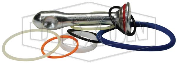 vep series female coupler repair kit 8 inch seals
